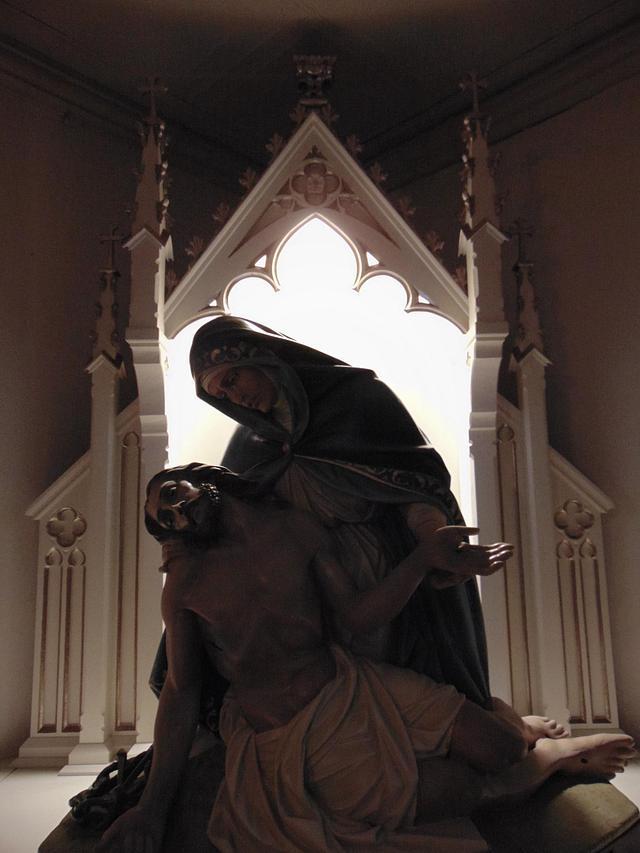 "Sorrowful Mother Shrine/ ""Pieta"" - Holy Family, Columbus"
