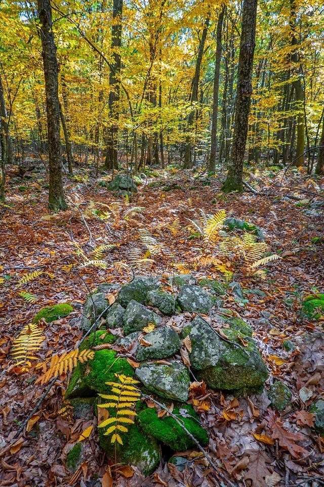 Indigenous stonework in Massachussets