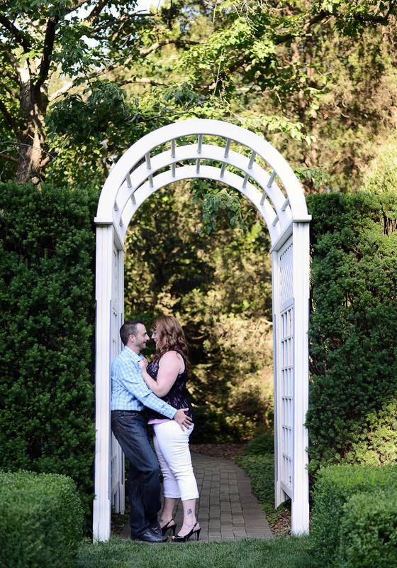 Amy & Steve   Engagement Session   Youngstown, OH   Fellow's Riverside Gardens   Cinderella Bridge   Mill Creek Park