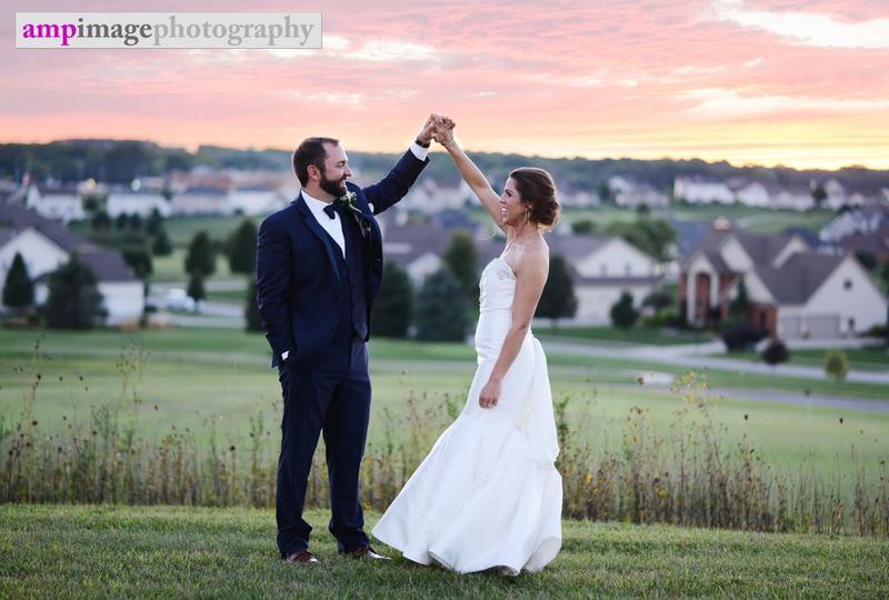 Laura & Judd | Wedding | Holy Family Parish | Poland Village Town Hall | The Links at Firestone Farms