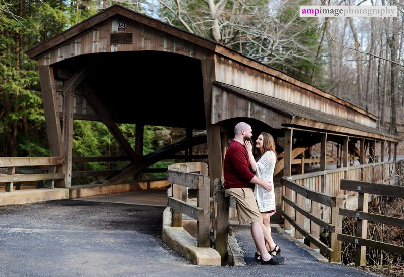 Kayla & Zac | Engagement Session | Mill Creek Park | Lanterman's Mill | Daffodil Meadow | Lake Newport Boat Launch
