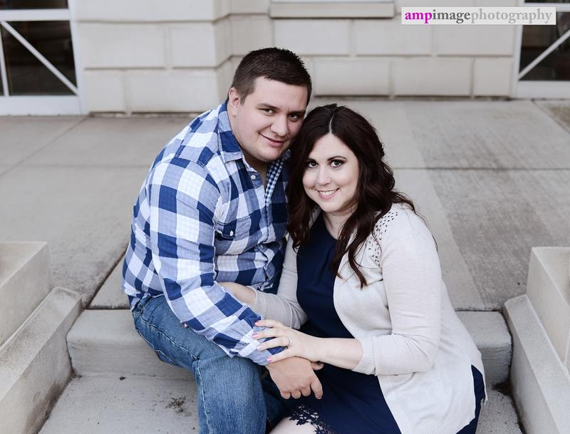 Brittany & Mike | Engagement Session | Cinderella Bridge | Fellows Riverside Gardens | Downtown Youngstown |