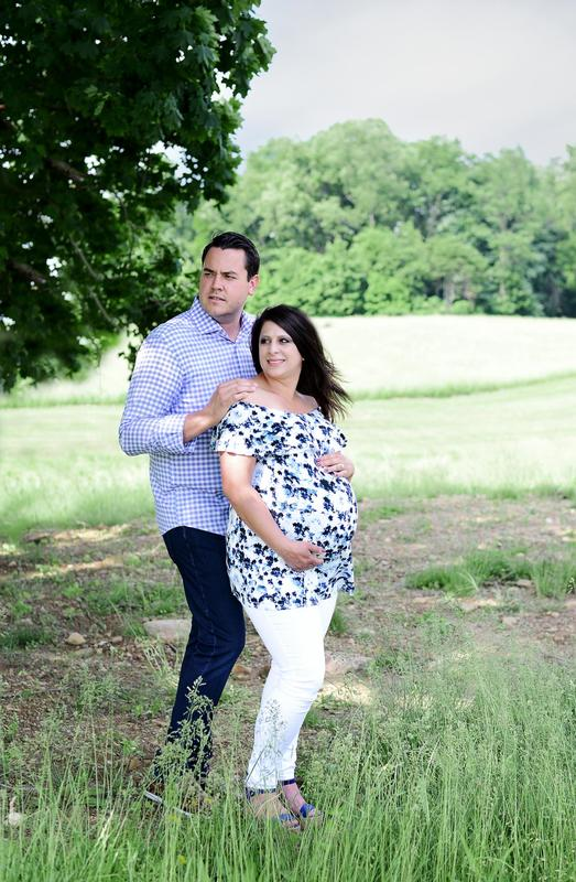 The {D} Family | Family Maternity Session | New Castle, PA | Youngstown Photographer