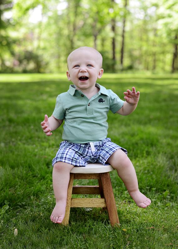 Dean is ONE! | Birthday Session | Family Session | Poland Library | Youngstown Photographer