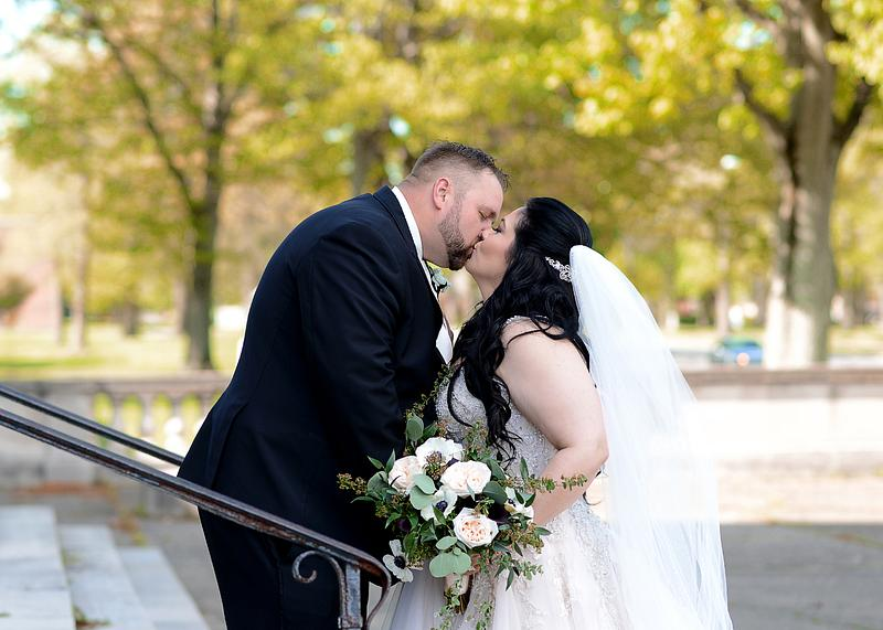 Erika & Rich | Wedding | Our Lady of Mount Carmel | Stambaugh Auditorium | Youngstown , OH | Youngstown Wedding Photographer