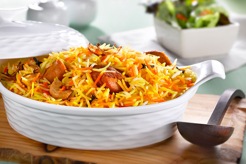 Basmati Rice Chicken Biryani