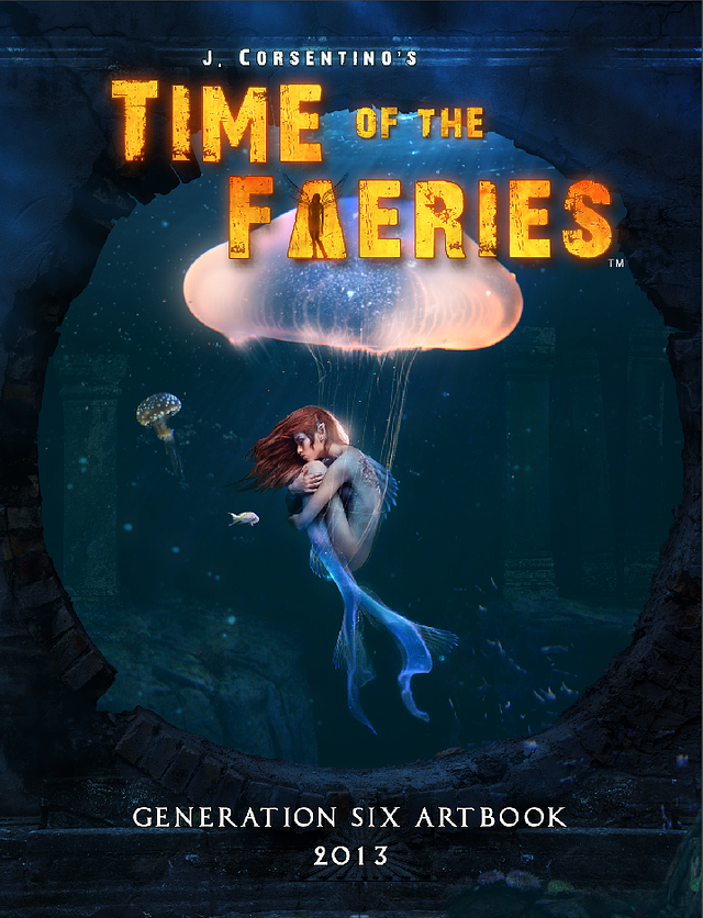 Time of the Faeries: Generation 6 Art Book