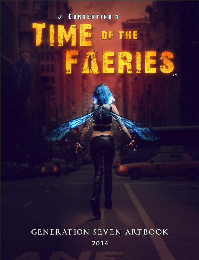 Time of the Faeries: Generation 7 Art Book