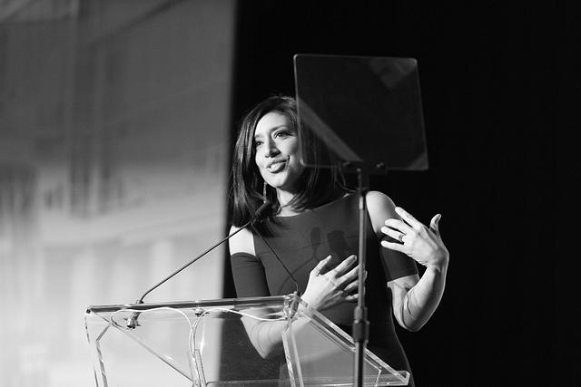 Global News anchor Farrah Nasser