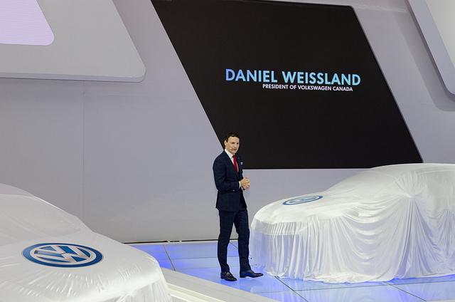 volkswagen canada ceo Daniel Weissland