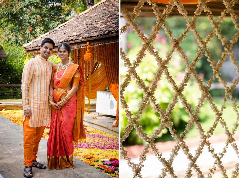 Karishma & Raghav Telugu wedding in Hyderabad