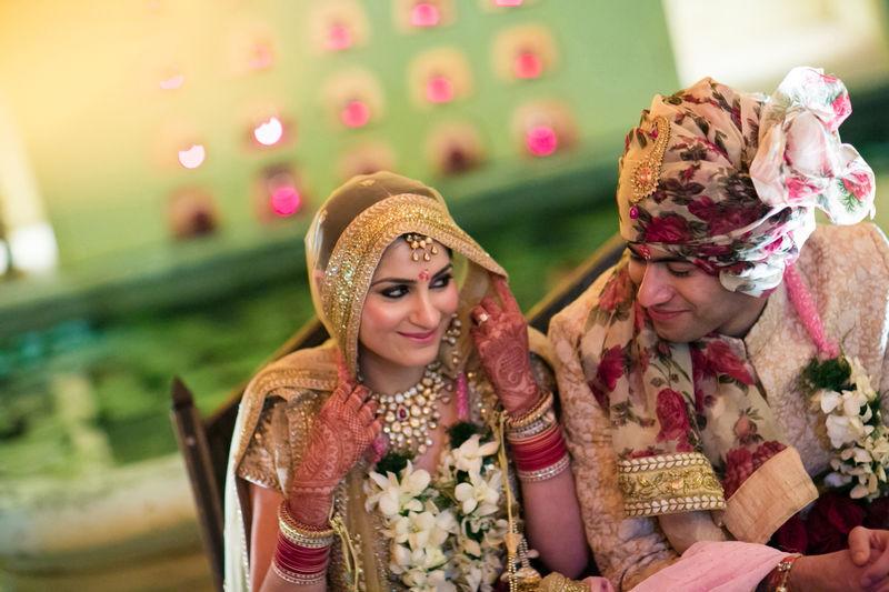 'A royal affair to remember'- Amrita & Raghav Samode Palace, Jaipur