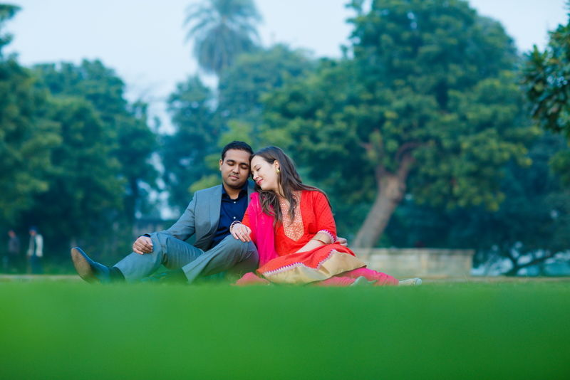 American Wedding- Sandra and Abhishek wedding in New Delhi