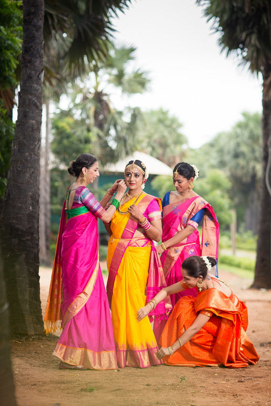 Ambika and Karthik - south indian wedding in Pondicherry