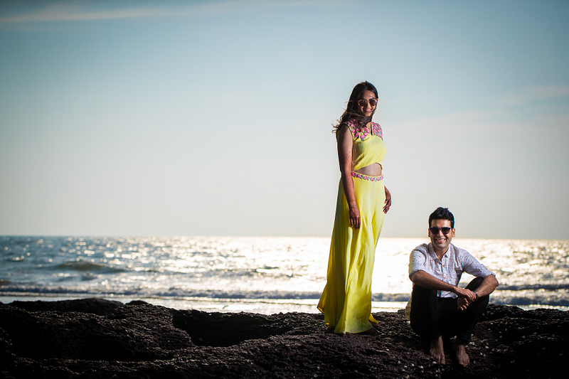 Ishita and Ashish- Pre Wedding shoot in Goa