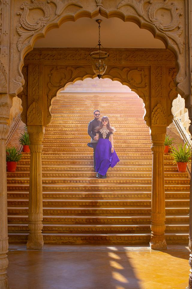 Ankita and Ankur Pre Wedding shoot in Suryagah Jaisalmer