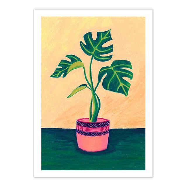 Cheese plant (A5 giclée print)