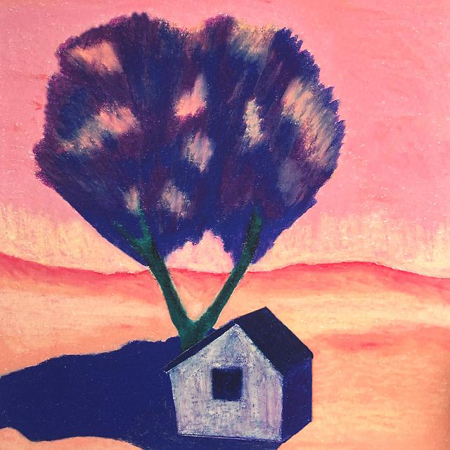 Tiny house in the wild (A4 giclee print)