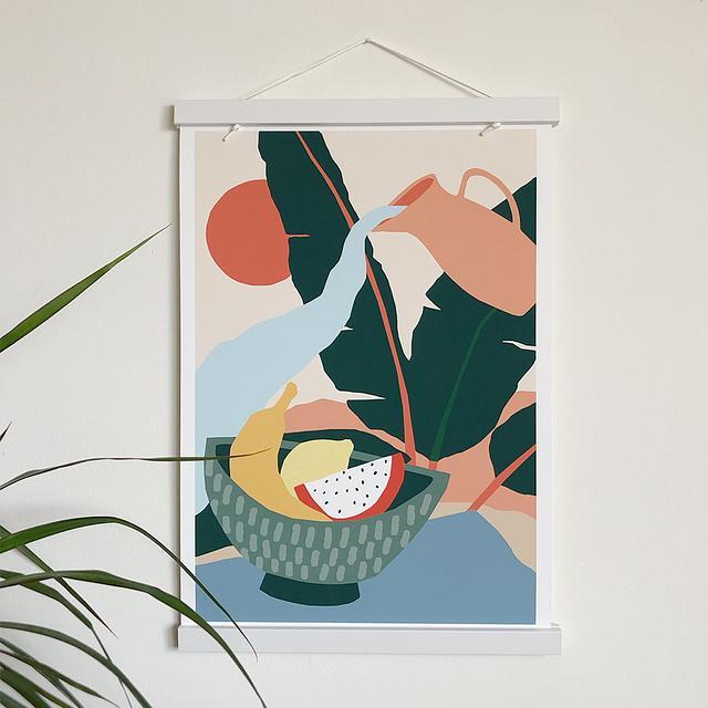 Fruit bowl (A4 giclée print)