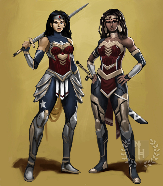 Wonder Women Art Print
