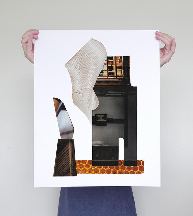 Construction 1 - Limited Edition Print