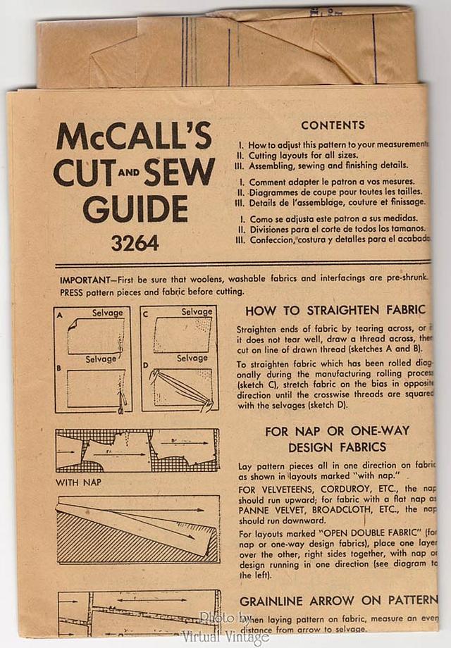 1950s Halter Dress Pattern, McCalls 3264 Rockabilly Dress Vintage Sewing Pattern
