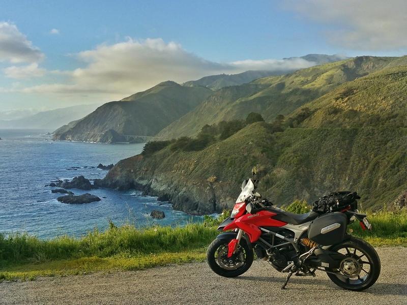 USA - East Coast - with motorbike