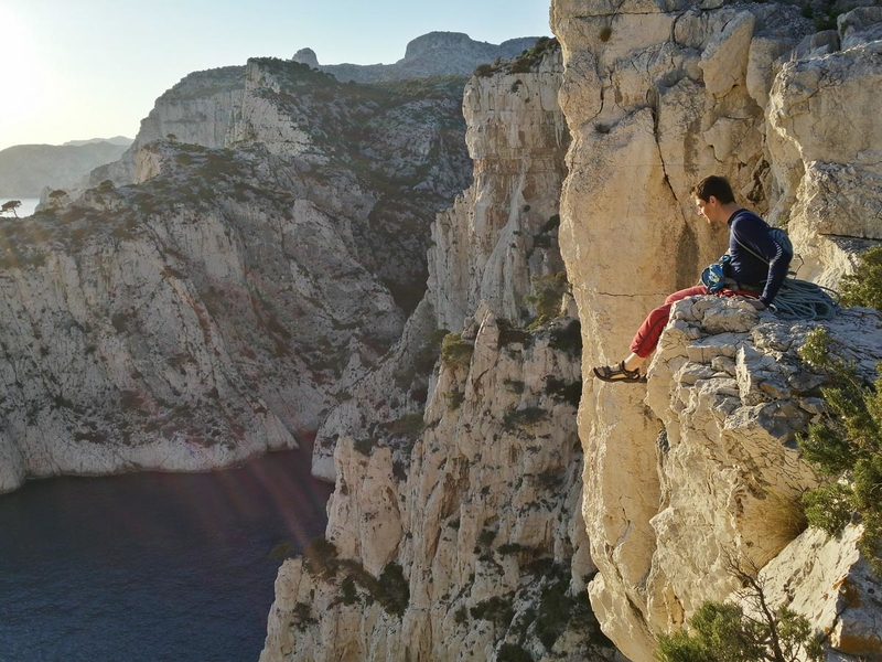 Les Calanques - Rock climbing