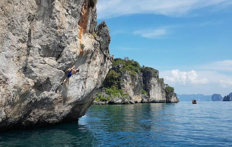 13-Jan - Climbing + Poda island beach