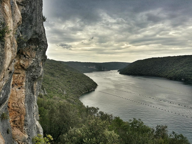 Istria - Rock climbing