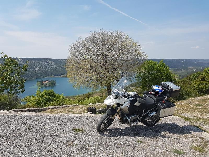 Croatian motorbike tour - Day 2
