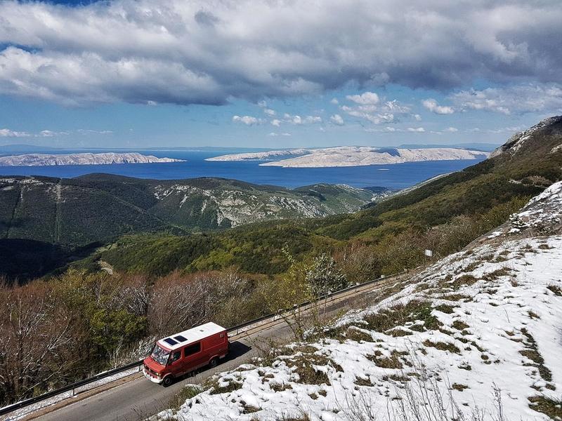 Croatian motorbike tour - Day 6