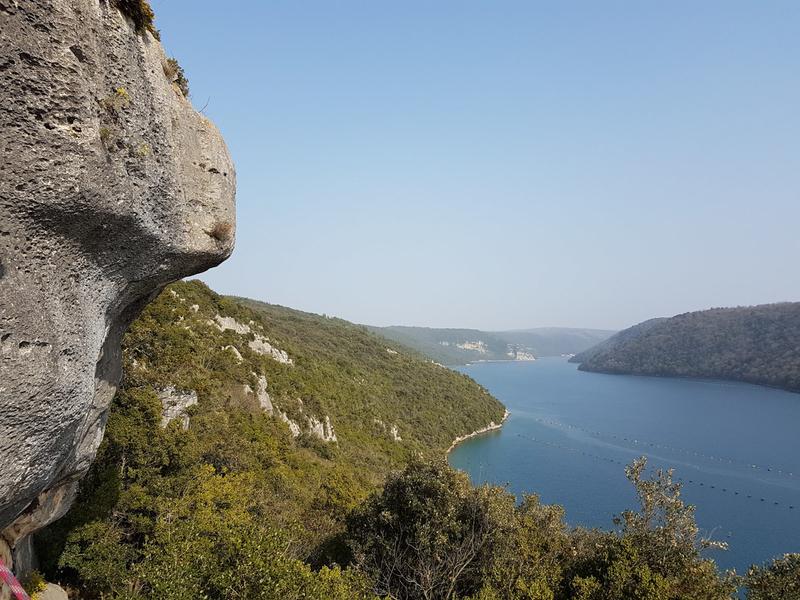 Rock climbing in Istria - Croatia
