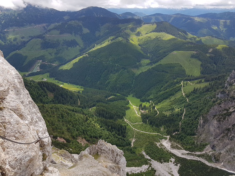 Via Ferrata in Austria