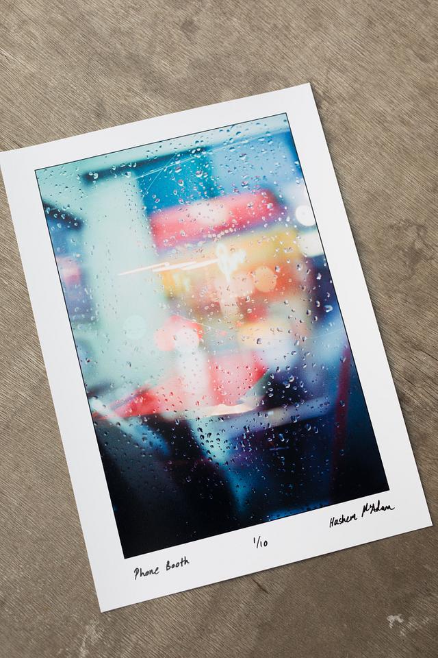 Phone Booth print