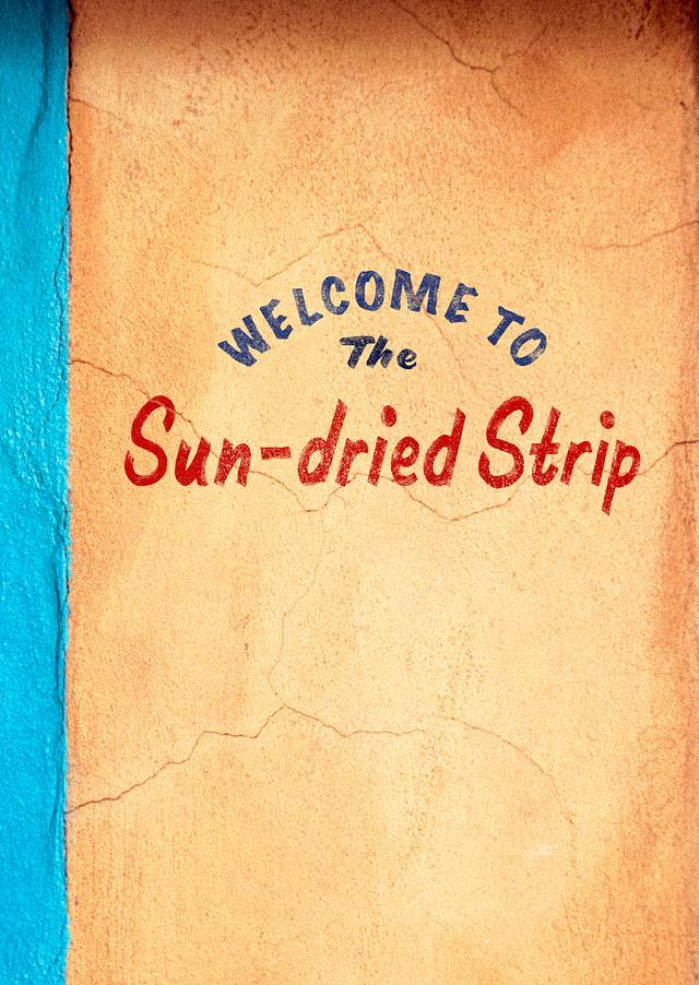 The Sun-dried Strip photo zine