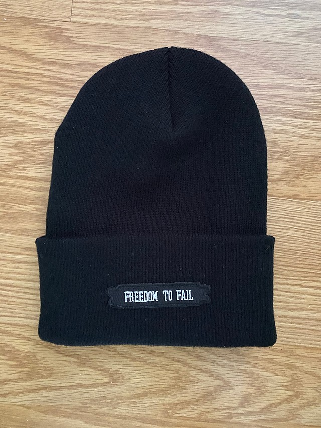Freedom to Fail - Beanie (black)