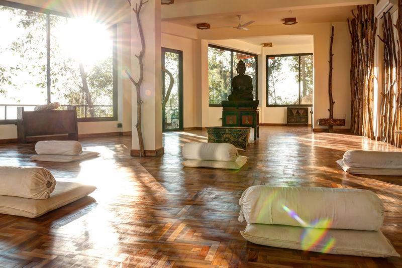 Meditation Room / Dwarika's Dhulikhel / Nepal