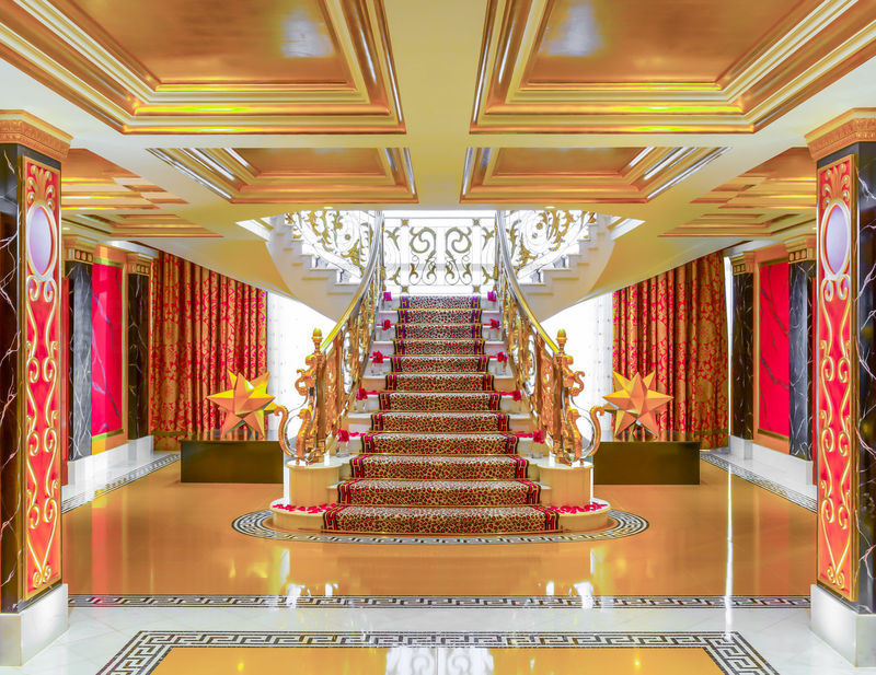 Entrance hall of the Burj Al Arab Royal Suite