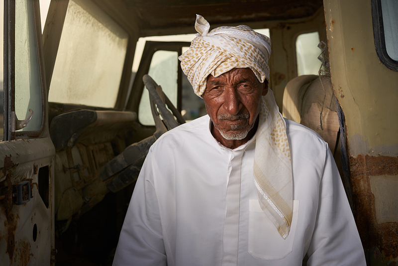 Saeed and old fisherman | Fujeirah | UAE