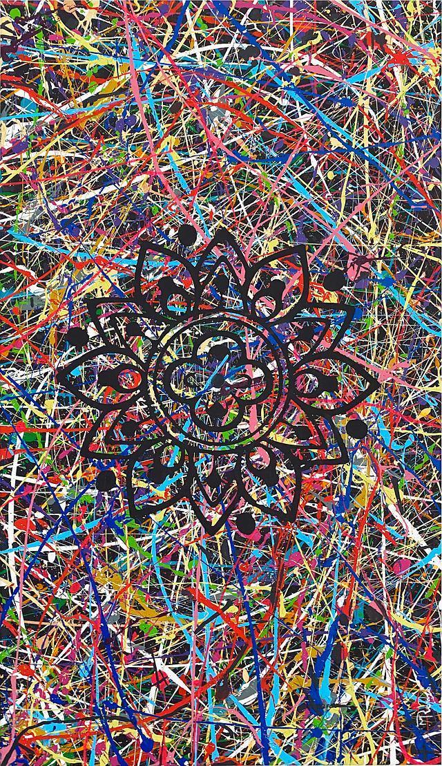 Fäden Mandala By MRomo®