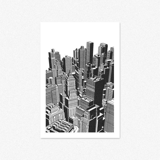 New York [Giclee Print]