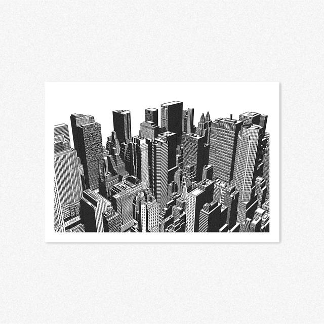 New York - Landscape [Giclee Print]