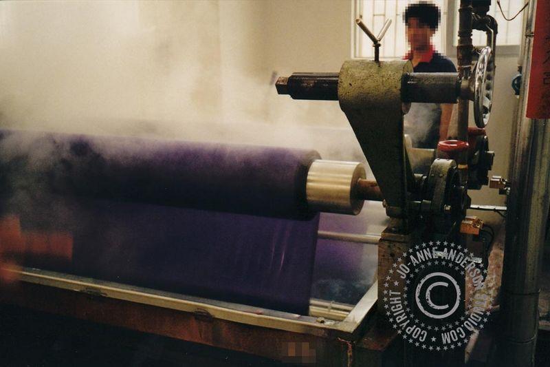 Hot Dye Bath