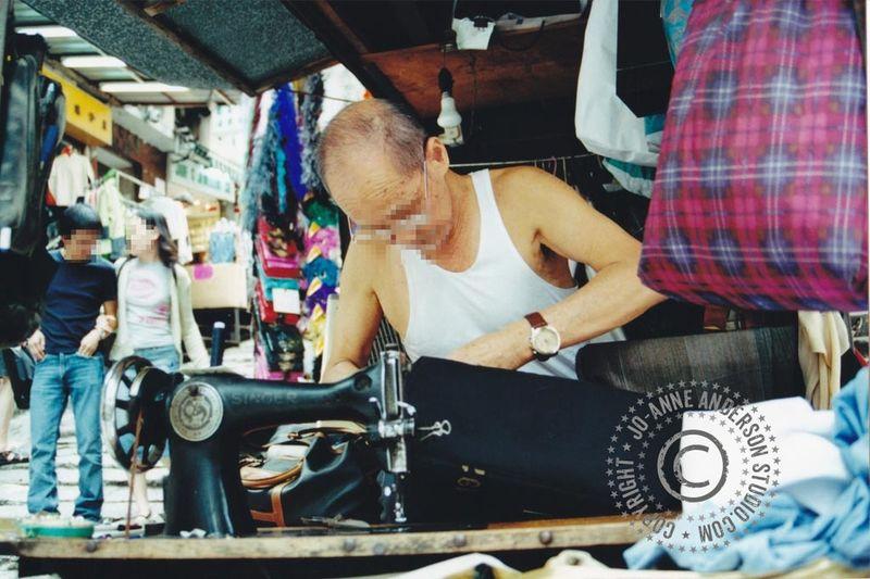 Hong Kong street machinist