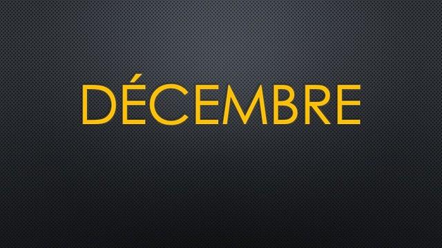 Decembre 2020