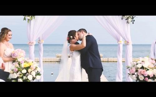 Destination wedding of Selena & Blair at Le Meridien Koh Samui Resort & Spa