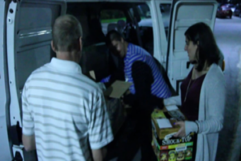 ISES & NACE Food Donation at Granite Links Golf Club, October 2015