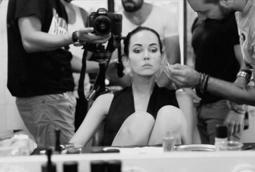 Hennin Özarı - Photoshoot Backstage