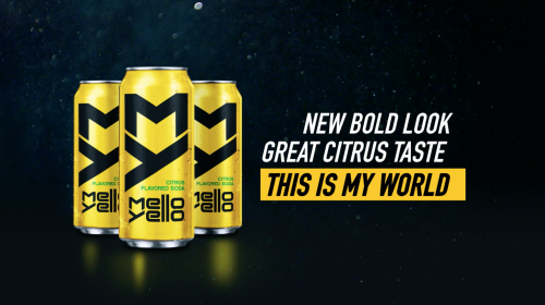 Mello Yello OOH Animation